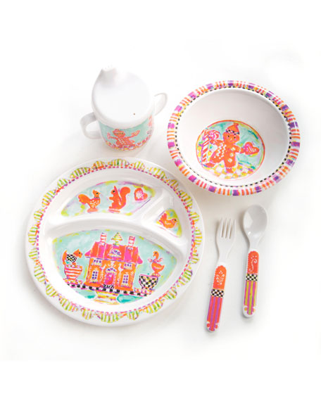 Girlsu0027 Gingerbread Dinnerware Box Set  sc 1 st  Neiman Marcus & MacKenzie-Childs Girlsu0027 Gingerbread Dinnerware Box Set   Neiman Marcus