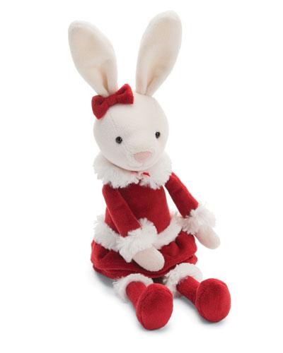 Christmas Bitsy Bunny Plush