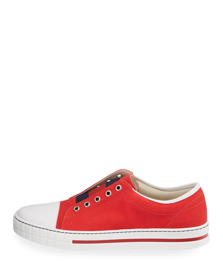 Canvas Slip-On Sneaker, Youth Sizes 4-7