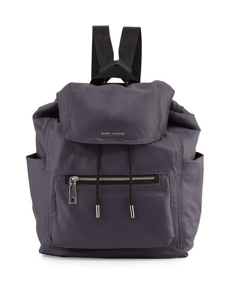 marc jacobs easy baby backpack diaper bag gray. Black Bedroom Furniture Sets. Home Design Ideas