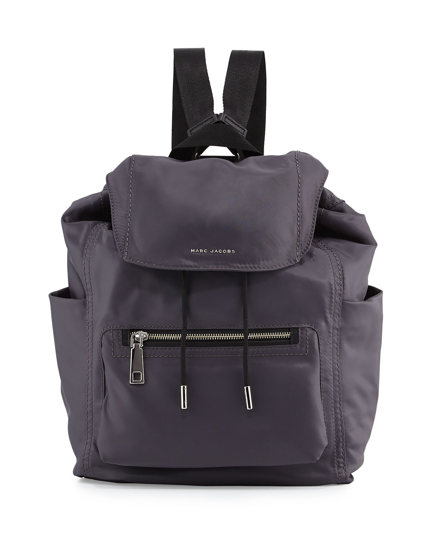 Easy Baby Backpack Diaper Bag Gray