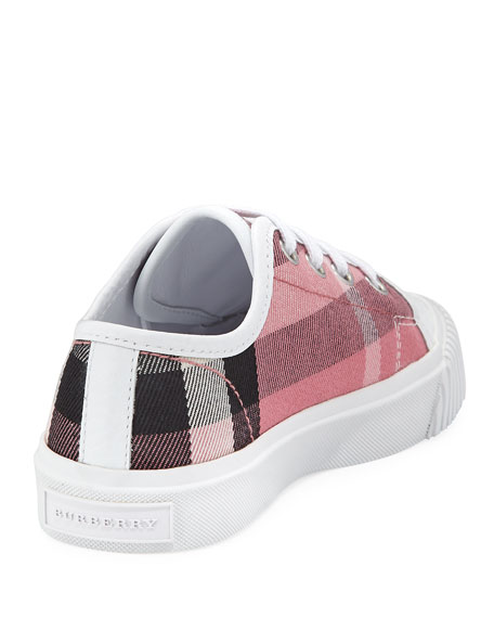 Check Low-Top Sneaker, Toddler Sizes 11-13