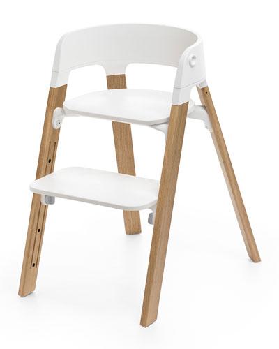 Steps™ Chair Legs, Oak Natural