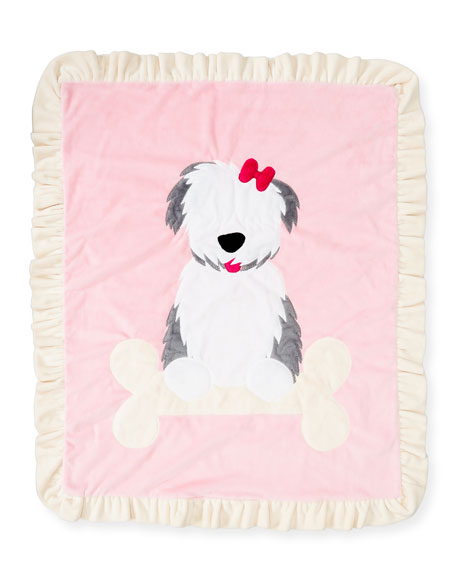Puppy Love Plush Baby Blanket