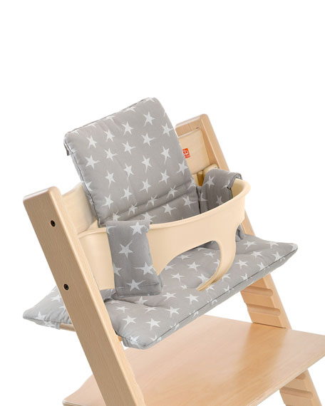 Tripp Trapp® Seat Cushion, Gray Star