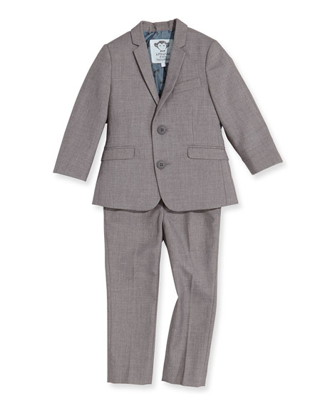 Appaman Boys' Two-Piece Mod Suit, Mist, 2T-14