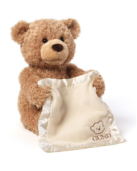Gund Peek-A-Boo Bear Animated Teddy