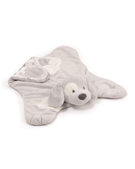 Gund Spunky Dog Comfy Cozy Blanket