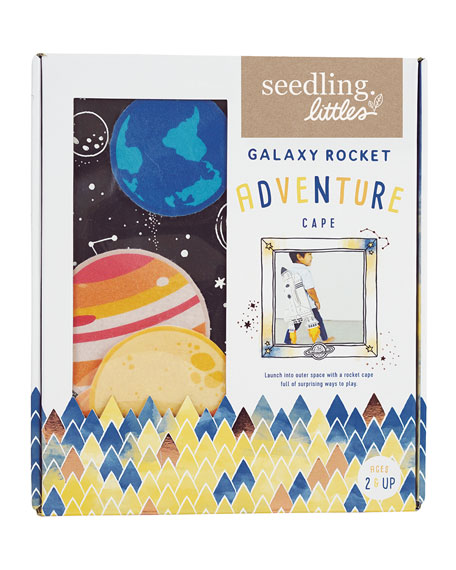 Seedling Galaxy Rocket Adventure Cape Set