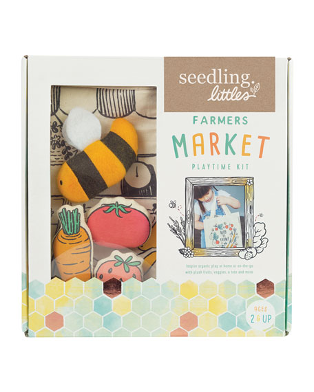 Seedling Farmer's Market Playtime Kit