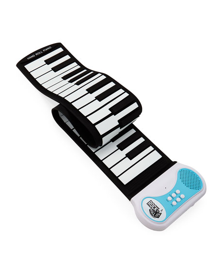 Mukikim Rock and Roll It Piano, Black/White