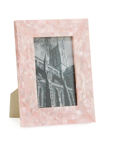 the jws collections mother of pearl frame pink 4 x 6 - Mother Of Pearl Picture Frame
