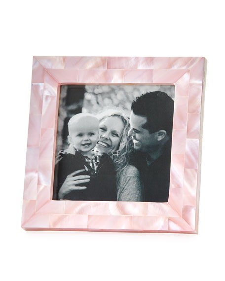 "Mother-of-Pearl Frame, 3.5"" Square"
