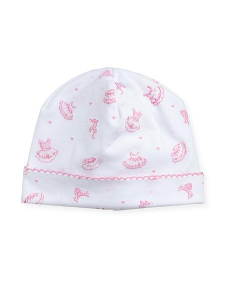 Tiny Tutus Print Pima Baby Hat