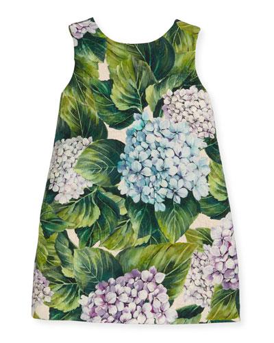 Taormina Sleeveless Dress, Hydrangea, Size 8-12