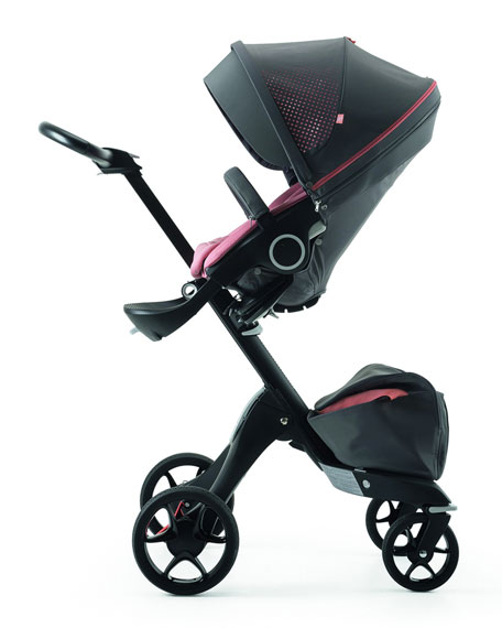 Stokke Xplory V5 Athleisure Stroller, Coral and Matching