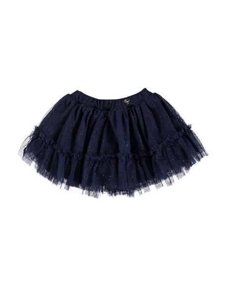 Glittered Tulle Skirt, Size 6-36 Months