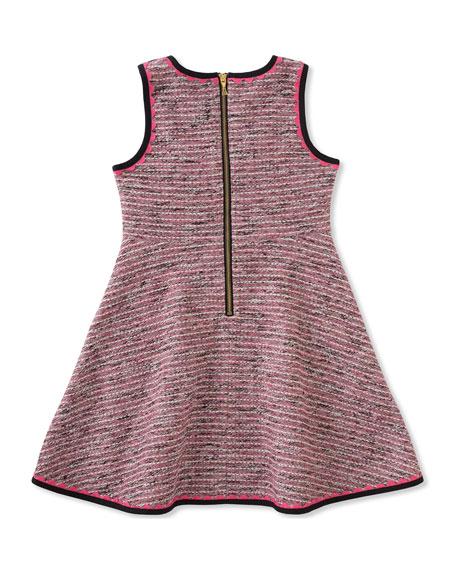 knit tweed dress, size 2-6