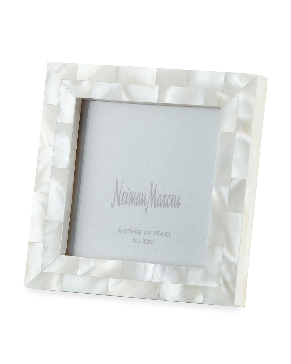 Mother Of Pearl Picture Frame White