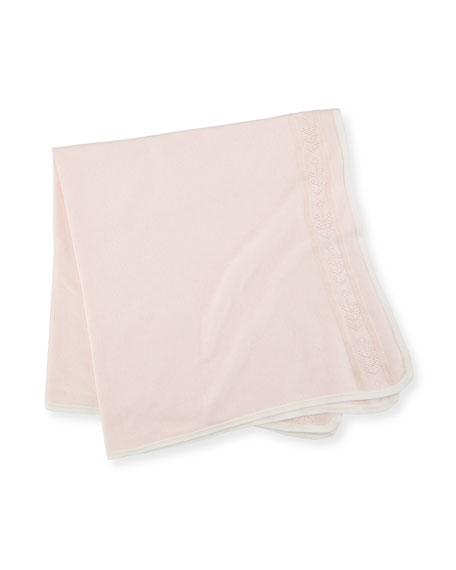 Angel Dear Take Me Home Pointelle Baby Blanket