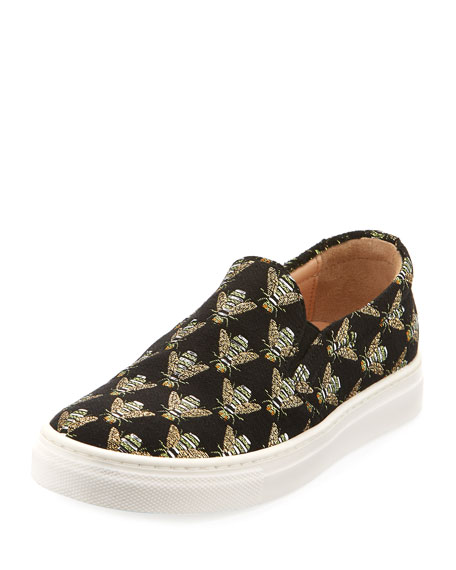 Cosmic Slip-On Bee Sneaker, Infant/Toddler Sizes 6M-10T