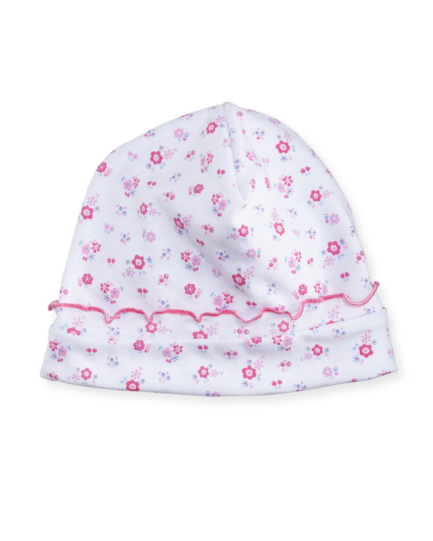Kissy Kissy Autumn Breeze Pima Baby Hat  804571d0a89
