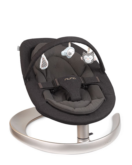 LEAF™ Curv Bouncer Seat, Black