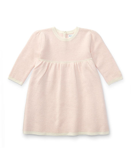 Joy Stitch Sweater Dress, Size 3-24 Months