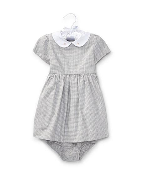 Ralph Lauren Childrenswear Plaid Dress w/ Bloomers, Size