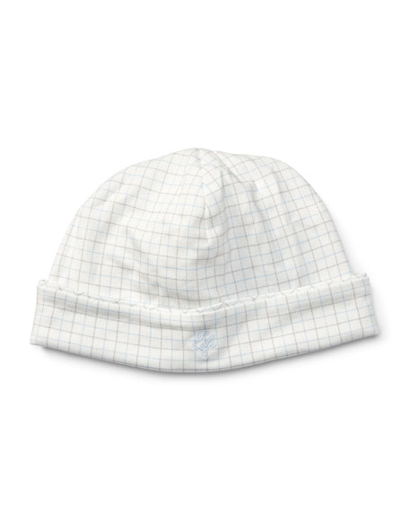 Ralph Lauren Childrenswear Tattersall Baby Hat