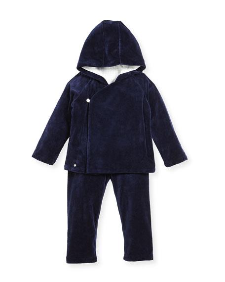 Ralph Lauren Childrenswear Velour Hooded Jacket & Pants,