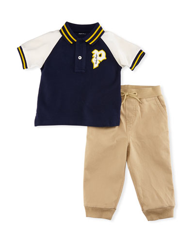Molo Athletic Polo w/ Joggers, Size 9-24 Months