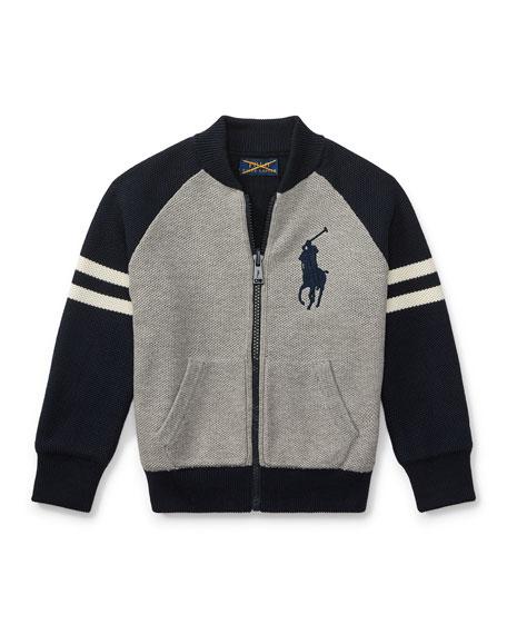 Ralph Lauren Childrenswear Combed Cotton Zip-Up Jackets, Size
