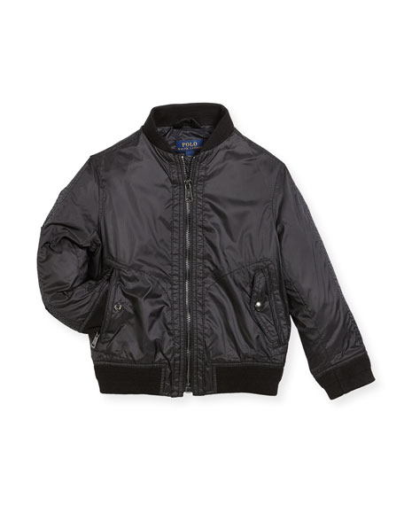 Ripstop Bomber Jacket, Size 5-7