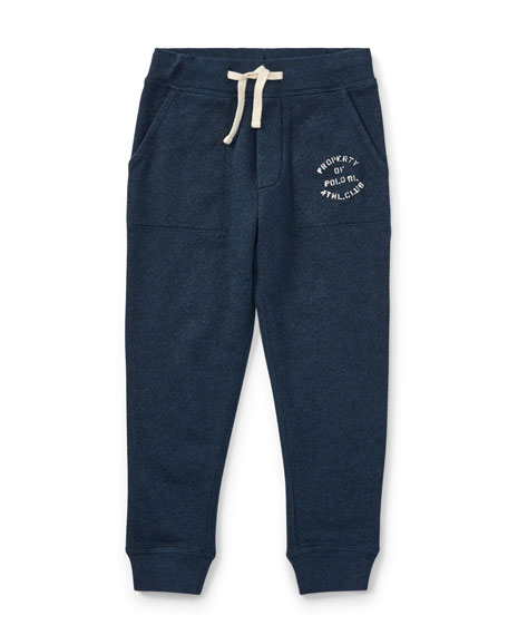 Ralph Lauren Childrenswear Lightweight Terry Sweatpants, Size 5-7