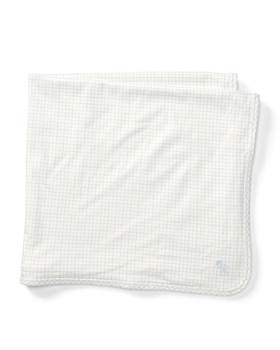 Tattersall Cotton Baby Blanket, Multi