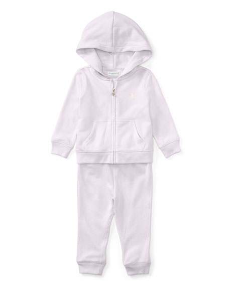 Ralph Lauren Childrenswear Atlantic French Terry Zip-Up Hoodie