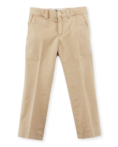 Ralph Lauren Straight-Leg Stretch Chino Pants, Size 2-7