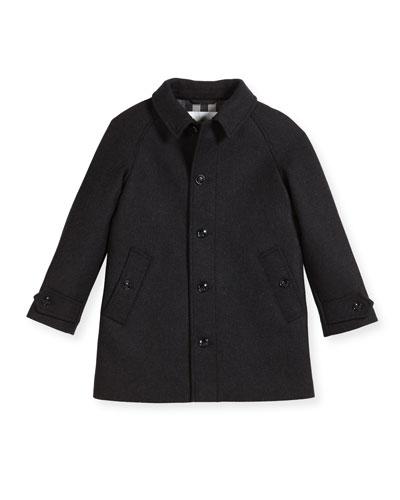 Bensham Wool-Blend Coat, Size 4-14