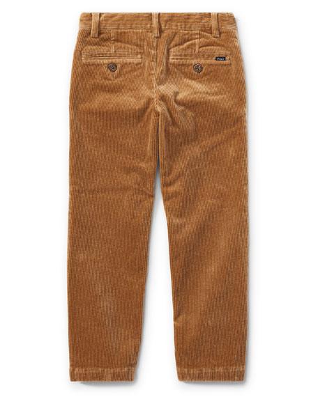 Suffield 10-Wale Corduroy Pants, Khaki, Size 2-4