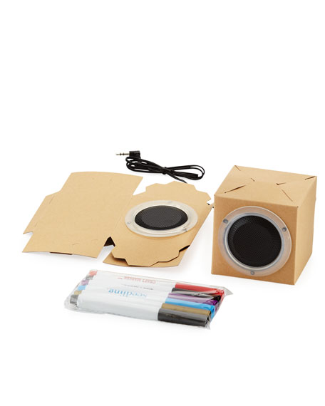 Seedling Design Your Own Cardboard Speakers