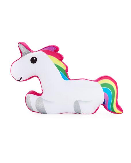 Iscream Glitter Unicorn Body Pillow