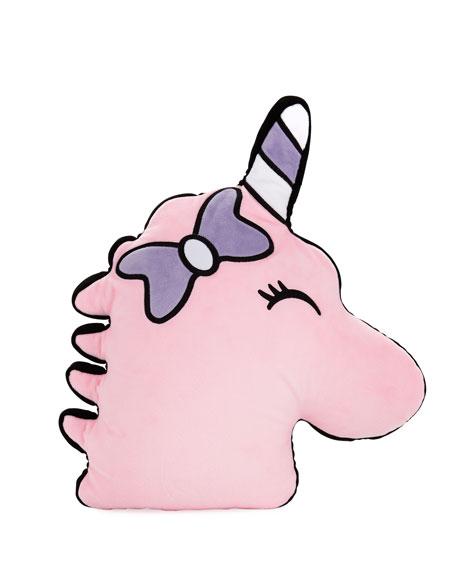 Scented Unicorn Head Pillow