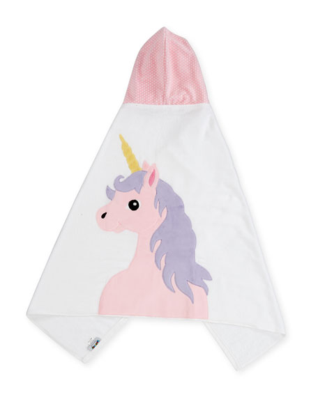Boogie Baby Unicorn Hooded Bath Towel