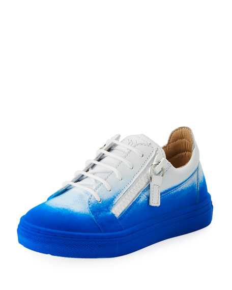 Smuggy Elettrico Ombre Low-Top Sneaker, Toddler