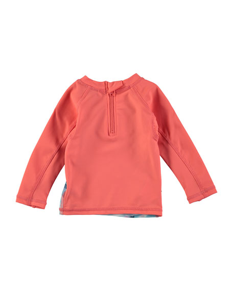 Nemo Hummingbird Long-Sleeve Rash Guard, Size 3-24 Months
