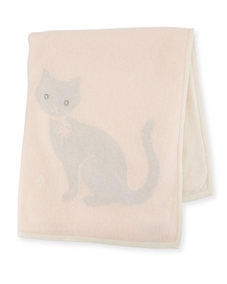 Sofia Cashmere Cashmere Kitty Cat Baby Blanket
