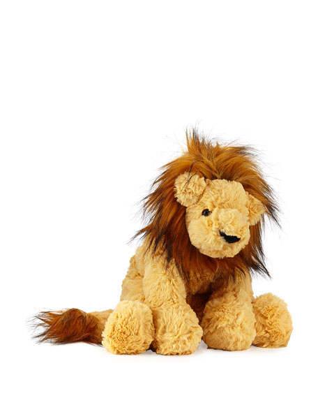 Lion Cozy Stuffed Animal, 10""
