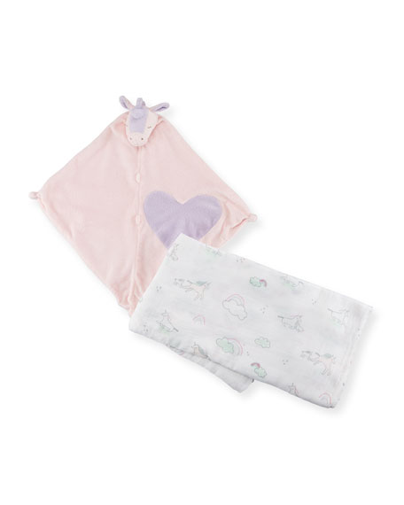 Angel Dear Take Me Home Unicorn Swaddle and