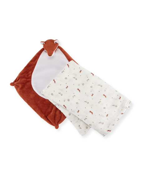 Angel Dear Take Me Home Fox Swaddle and